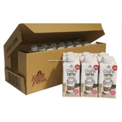 FARM FRESH CAFE LATTE MILK 200MLx24