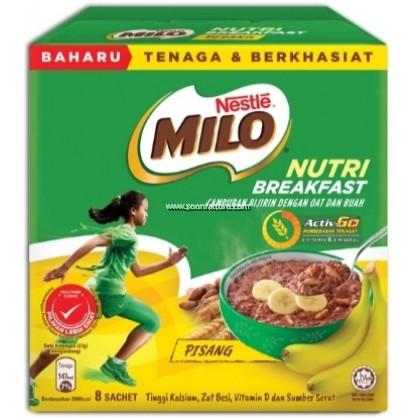 MILO NUTRI BREAKFAST BANANA 37GMx8'S