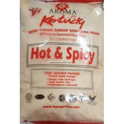 AROMA TEPUNG KENTUCKY HOT&SPICY 3KG